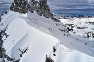 Skimountaineering in Engelberg with Powderchase